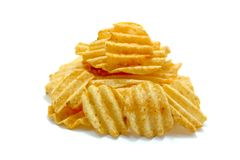 Chips, Close-up, Crisp Stock Photography