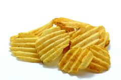 Chips, Close-up, Crisp Royalty Free Stock Photo