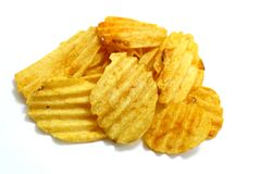 Chips, Close-up, Crisp Stock Photo