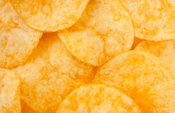 Chips closeup Stock Images