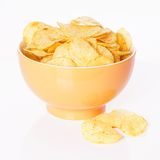 Chips or crisps Royalty Free Stock Image