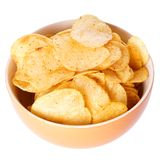 Chips or crisps Stock Photo