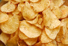 Chips crisps Stock Images