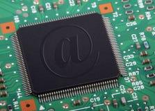 Chips de ordenador imágenes de archivo libres de regalías