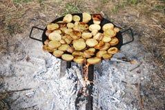 chips den utomhus- förberedelsen Royaltyfria Foton