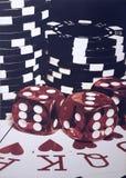 Poker night royalty free stock image