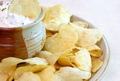 Chips and Dip Royalty Free Stock Images