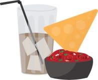Chips Dip Soda Royalty Free Stock Photo