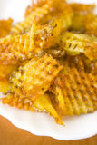 Chips - fried potato Royalty Free Stock Photos