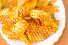 Chips - fried potato Royalty Free Stock Photos