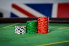 Chips in Großbritannien Stockfoto