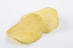 Chips isolated Royalty Free Stock Images
