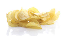 Chips isolated Royalty Free Stock Photo