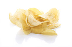Chips isolated Stock Photo