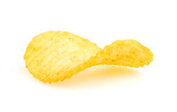 Chips isolated on white Royalty Free Stock Photos