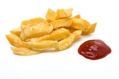 Chips n sauce Stock Photos