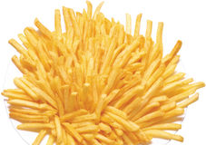 Chips pommes Stock Images