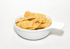 Chips in a Pot Stock Images