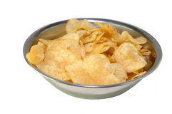 chips potatisen Arkivbild