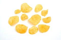 chips potatisen Arkivfoton