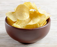 chips potatisen Royaltyfri Foto