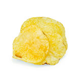 Chips potato pile Royalty Free Stock Photo