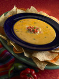 chips queso Arkivfoton