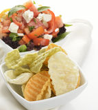 Chips And  Salsa Royalty Free Stock Photo