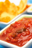 Chips and Salsa Royalty Free Stock Photography