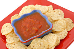Chips & Salsa Stock Images