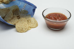 Chips and salsa Stock Image