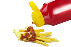 Chips stick Royalty Free Stock Image