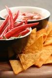 chips tortillaen Royaltyfri Foto