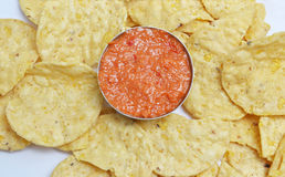 Chips treat Royalty Free Stock Images