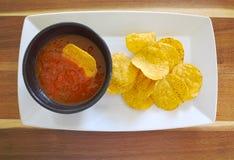 Chips und Bad Lizenzfreie Stockfotografie