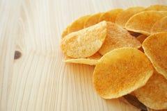 Chips und Bad lizenzfreie stockfotos