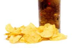Chips und Kolabaum Lizenzfreie Stockfotos