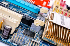 Chipset Royalty Free Stock Photo