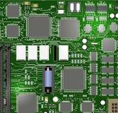 Chipset del vector Imágenes de archivo libres de regalías
