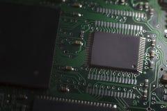 Chipset elettronico immagine stock