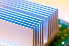 Chipset heatsink Στοκ φωτογραφία με δικαίωμα ελεύθερης χρήσης