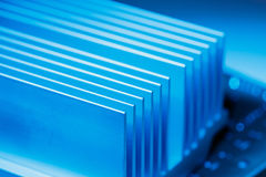Chipset heatsink Στοκ Εικόνες