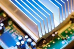 Chipset heatsink Stock Photos