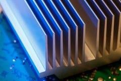 Chipset heatsink Royalty Free Stock Photos