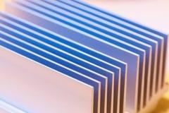 Chipset heatsink Stock Image