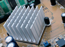 Chipset Radiator Royalty Free Stock Photos