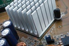 Chipset Radiator Stock Images