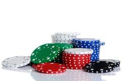 chipsy hazardu Zdjęcie Stock