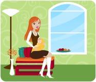 Chique da mamã Imagens de Stock Royalty Free
