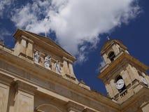 Chiquinquirà ¡是一个镇和自治市在Boyacà ¡的哥伦比亚的部门 库存图片